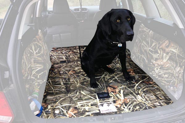 canvasback realtree camo canvas cargo liners black dog