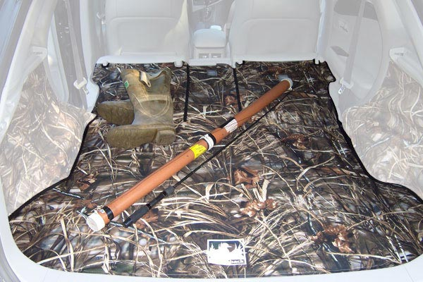canvasback realtree camo canvas cargo liners fishing
