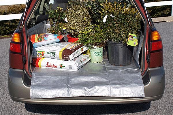 cargo apron removable cargo liner garden