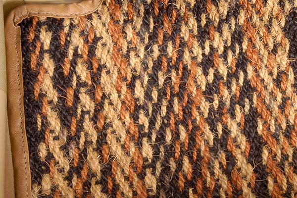 designer mats coco cargo mat detail