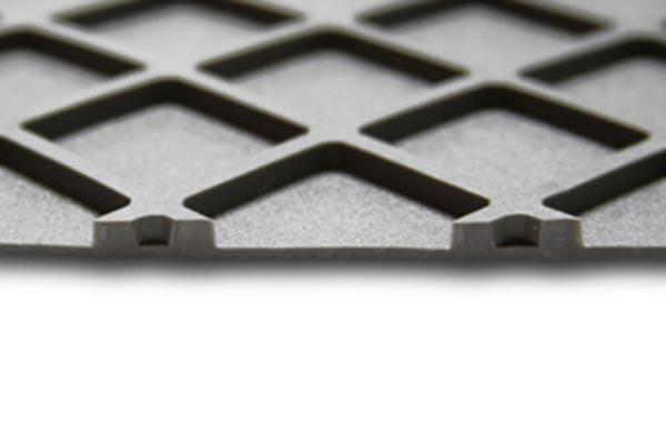flexomats cargo liners square rubber tread