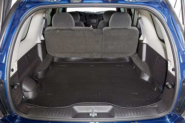 husky cargo liner before after