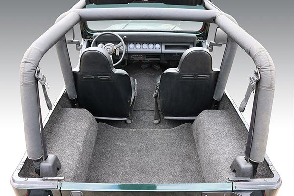 jeep bedrug cargo liners yj rear cargo related