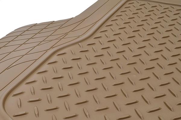 proz premium rubber cargo mat diamond tread pattern