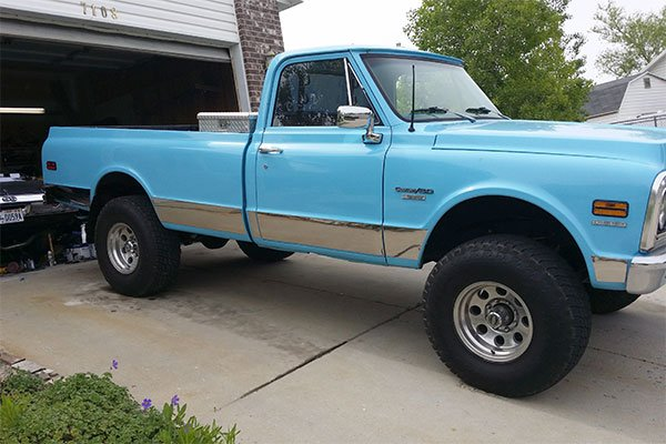 4574 b and i rocker panels chevy ck pickup