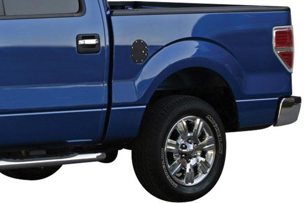 bully billet aluminum fuel doors ford
