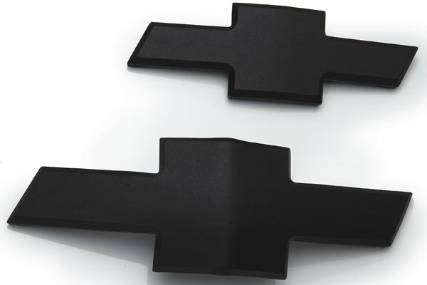 defenderworx black chevy grill emblems bowtie