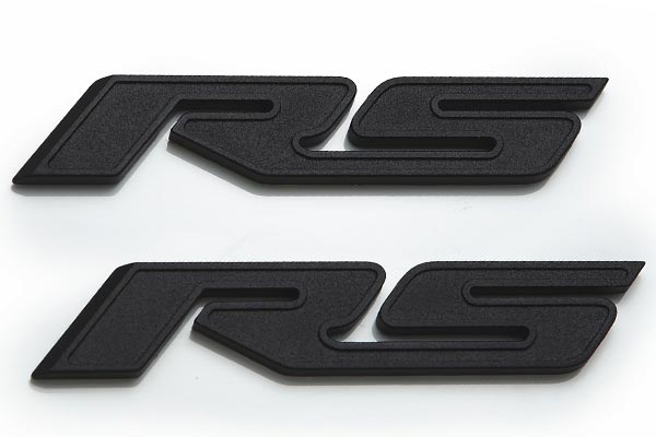 defenderworx black rs camaro emblems