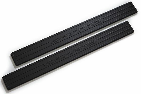 defenderworx camaro chrome black pillar post trim