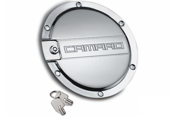 defenderworx camaro fuel door chrome