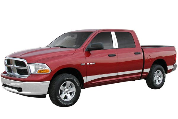 ici rocker panels installed dodge ram