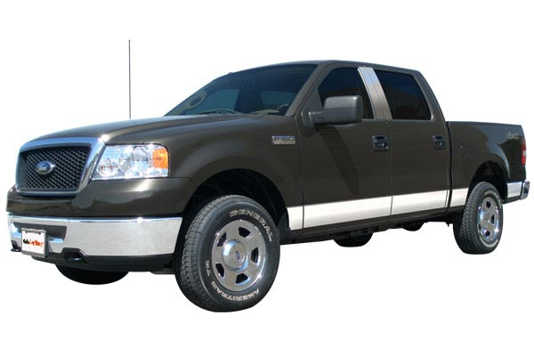 ici rocker panels installed ford f150