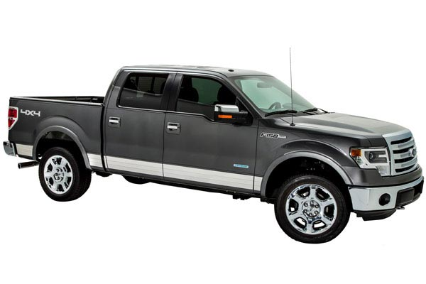 ici se series rocker panels f150 three quarter