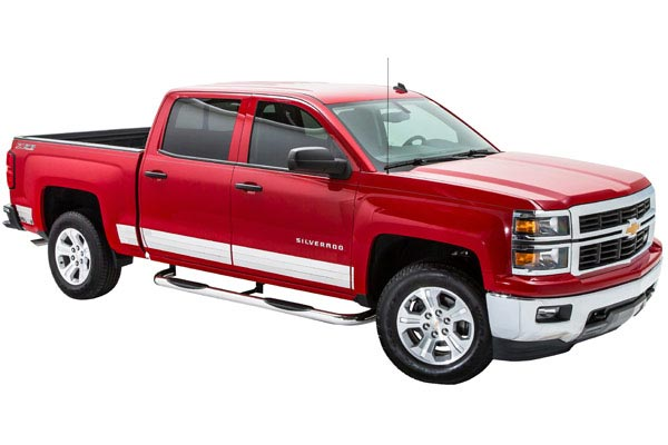 ici se series rocker panels silverado three quarter