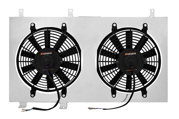 mishimoto aluminum fan shroud double