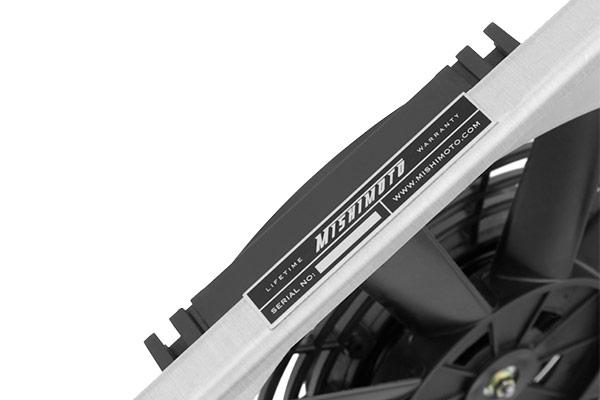 mishimoto aluminum fan shroud kits serial plate