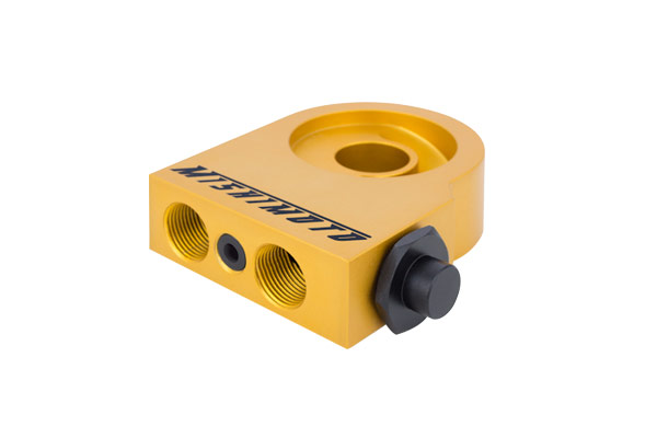 mishimoto direct fit oilcooler yellow