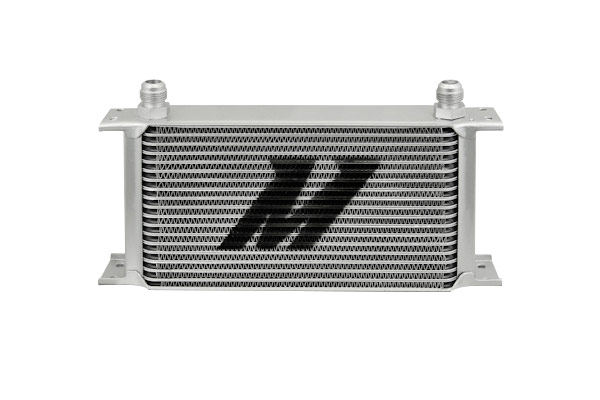 mishimoto universal 19 row oil cooler front