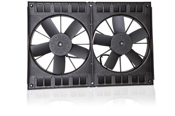 truxp performance electric cooling fans square