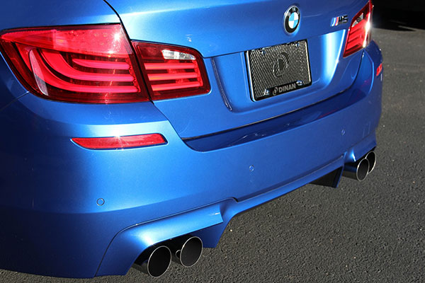 dinan exhaust systems tip detail m5