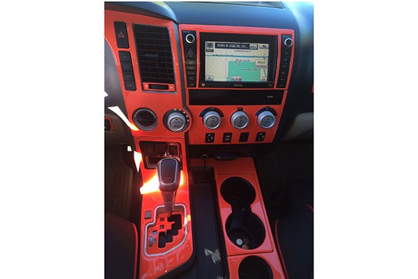 4150 sherwood dash kit red
