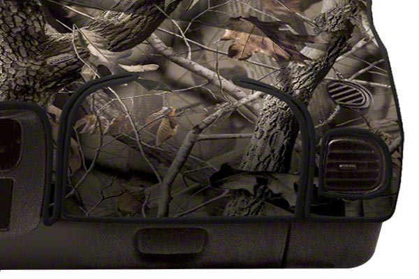 coverking realtree camo velour dashboard cover airbag