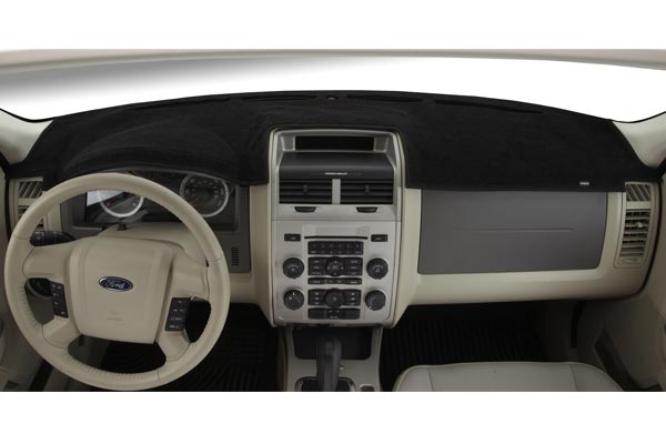 dashmat carpet dashboard cover black
