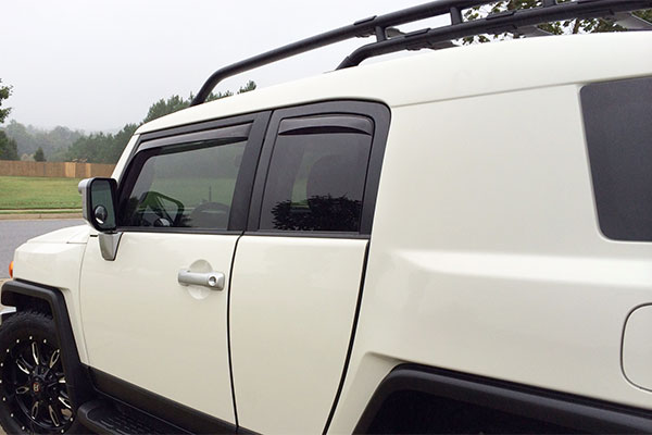 2923 weathertech deflectors fj cruiser
