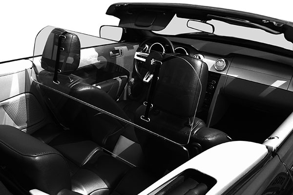 windblox convertible windscreen mustang7