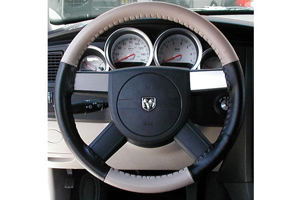 Wheelskins EuroTone Sand Black on Dodge Wheel
