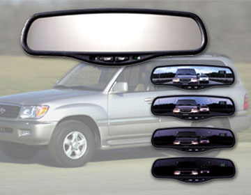 gentex k21 auto dimming rear view mirror with compass rearview example