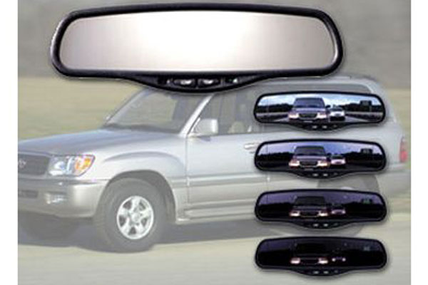 gentex k2 auto dimming rear view mirror rearview example