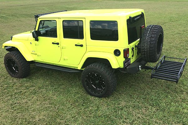 great-day-hitch-n-ride-cargo-carriers-jeep-wrangler-installed