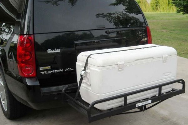 great day hitch n ride cargo carriers cooler ice chest