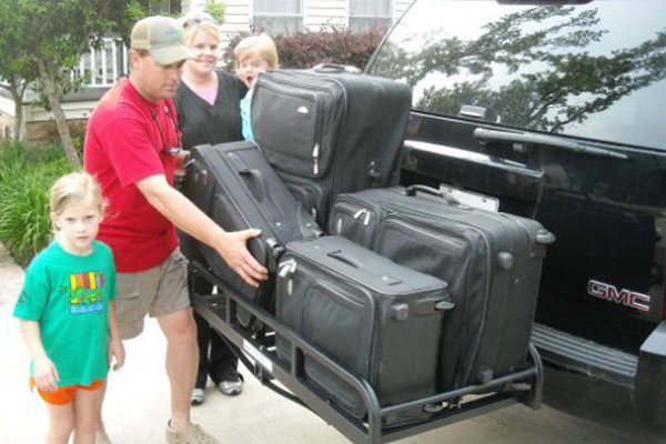 great day hitch n ride cargo carriers luggage