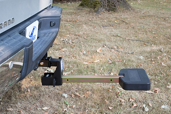 hitchmate truckstep clears tailgate
