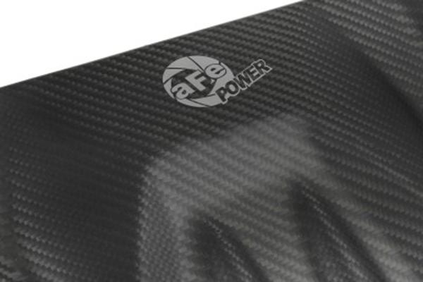 afe carbon fiber engine covers afe logo