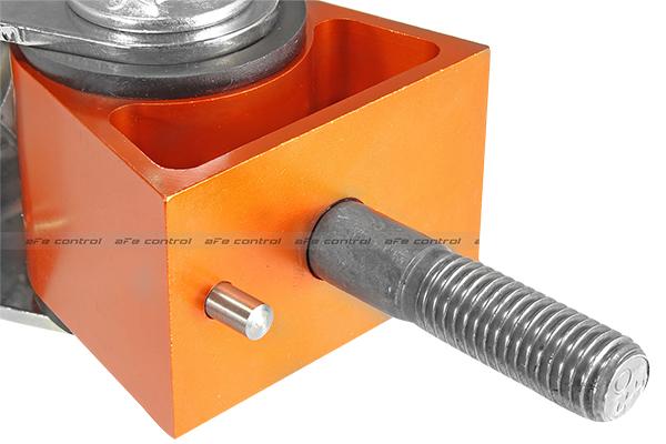 afe control pfadt series engine mounts orange anodized finish