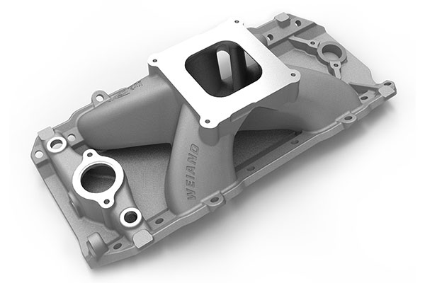 weiand track warrior intake manifold side one