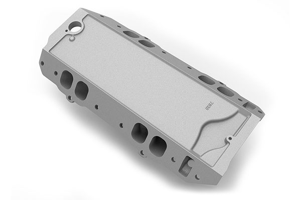 weiand track warrior intake manifold side three