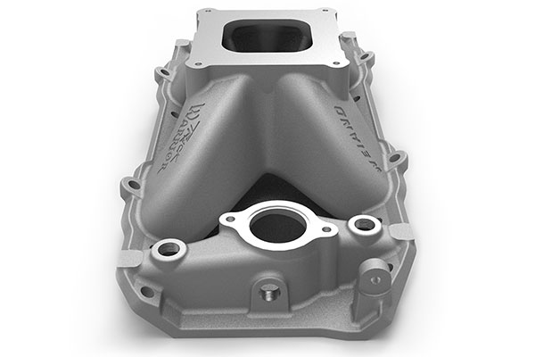 weiand track warrior intake manifold side two