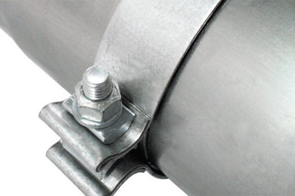 afe exhaust systems 360 degree band clamps