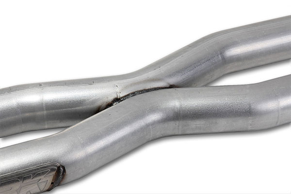 bbk exhaust system x pipe