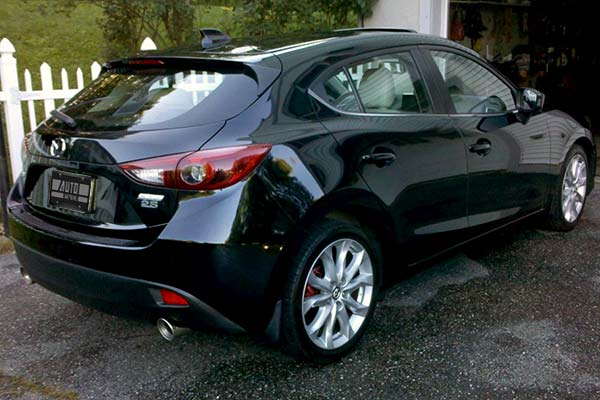 Borla S Type Axle Back Exhaust Installed on 2014 Mazda 3