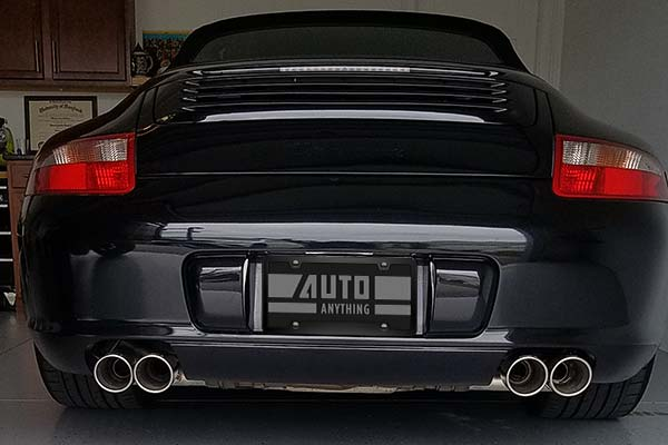 Borla Exhaust on 2005 Porsche Carrera