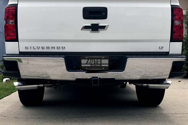 Borla Touring Series Cat Back Exhaust Installed on 2014 Chevy Silverado 1500