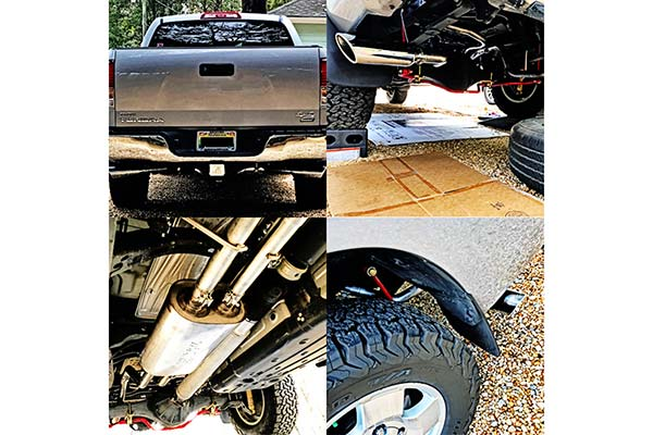 Borla Cat Back Exhaust Touring Series Installed on 2013 Toyota Tundra 5.7L