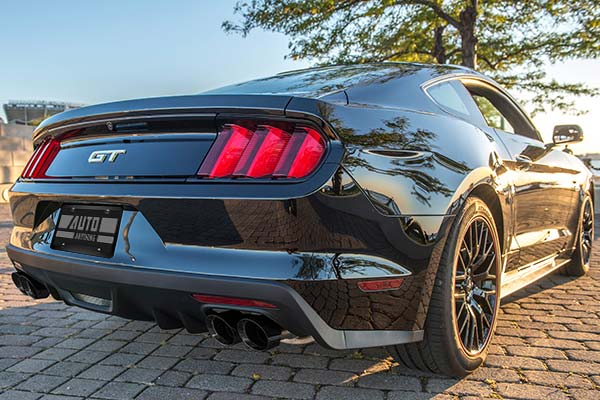 Corsa Exhaust on 2017 Ford Mustang GT