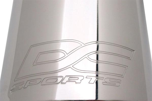 dc sports Exhaust Roll Stamp Tip
