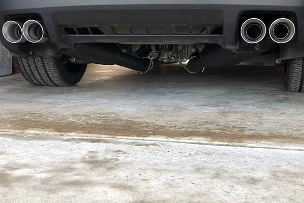 flowmaster american thunder exhaust installed on 2015 chevy camaro ss